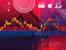 Stock Market Speculation Abstract Illustration. As JPG File Royalty Free Stock Photos