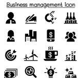 Stock market , Stock exchange icon set. Stock market , Business management icon set vector illustration Stock Image
