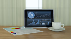 Stock market and technology, concept Stock Photography