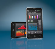 Stock market and technology, concept Stock Images