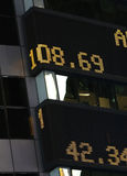 Stock Market Ticker Stock Photo