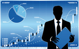 Stock market trader Stock Photos