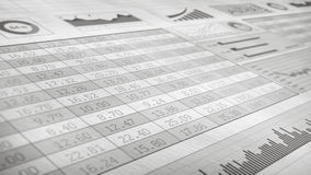 Stock Market_078 stock video footage