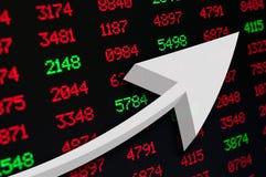 Stock Market Up Stock Photos