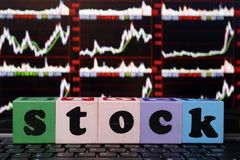 Stock market Stock Photography