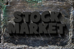 Stock market Stock Photos