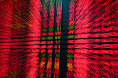 Stock market08. Abstract blur of stock market board Stock Images