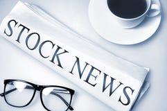 Stock News word Stock Photos