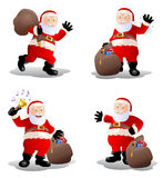 Stock of old santa claus Royalty Free Stock Images