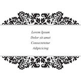 Stock  orient floral pattern. card, brochure, invitztion, Stock Photography