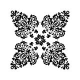 Stock  orient floral pattern Royalty Free Stock Photos