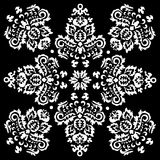 Stock  orient floral pattern Stock Image