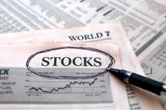 Stock Paper Royalty Free Stock Photos