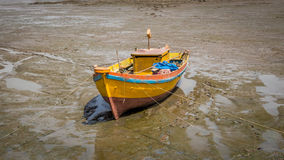 Stock photo of abandoned boat Royalty Free Stock Photos