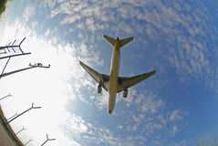 Stock photo of an aeroplane stock image