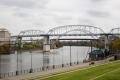 Stock Photo of Bridges in Nashville stock photos