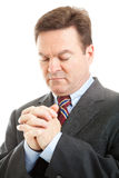 Stock Photo of Businessman Praying Stock Images