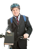 Stock Photo of Christian Bicycle Missionary Stock Photos