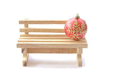 Stock Photo:Christmas decoration  on white background. Stock Image