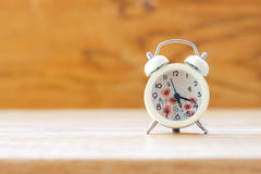 Stock Photo:Classic Alarm Clock - Vintage filter processing sty Stock Photos