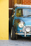 Stock Photo:Classic Rracing Mini Cooper Detail Royalty Free Stock Photos