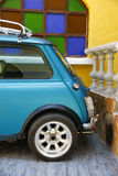 Stock Photo:Classic Rracing Mini Cooper Detail Royalty Free Stock Images