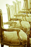 Stock Photo: classical style Armchair sofa couch in vintage roo Royalty Free Stock Photography