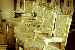Stock Photo: classical style Armchair sofa couch in vintage roo Stock Image