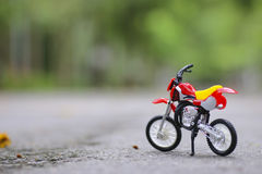 Stock Photo:close-up of motorcycle model Shallow depth of field Stock Photo