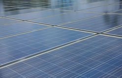 Stock Photo:Closeup of solar panel Stock Photography