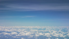 Stock Photo - Clouds on the blue sky Stock Image