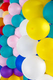 Stock Photo: Colorful balloons background, soft focus. Royalty Free Stock Photos