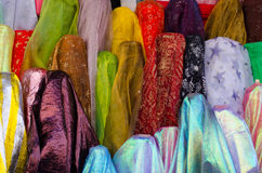 Stock photo of colorful fabric Royalty Free Stock Images