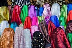 Stock photo of colorful fabric Stock Image