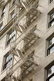 Stock Photo of a Fire Escape on Historic Building Stock Images