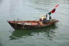 Stock Photo - fishing boat on sea background Stock Images