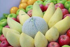 Stock Photo:Fresh fruits white . Set of different fresh fruits Royalty Free Stock Image