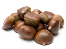 Stock photo fried chestnuts on the street street food roasted chestnuts vector illustration