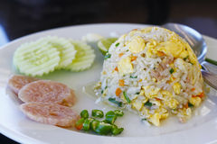 Stock Photo:fried rice ,Thai cuisine Stock Images