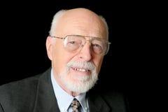 Stock Photo of Friendly Senior Man Royalty Free Stock Photos