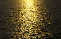 Stock Photo - golden sunrise seascape sea ocean Stock Images
