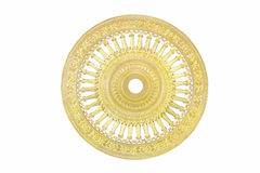 Stock Photo:golden Thammachak wheel was symbol of Buddhism Stock Images