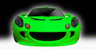 Stock Photo of a green 2007 Lotus Exige Royalty Free Stock Photo