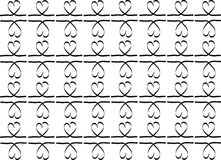 Stock-photo Hand drawn stylish love hearts pattern Stock Photos