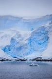 Iceberg from Antarctica Stock Photography