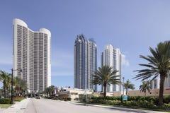 Stock photo of Jade beach and Jade Ocean condominiums Stock Image