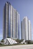 Stock photo of Jade beach and Jade Ocean condominiums Stock Photos