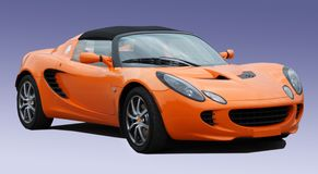 Stock Photo of Oarange Lotus. This is a stock photograph of an orange Lotus Royalty Free Stock Photos