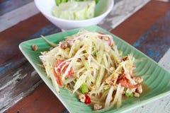 Stock Photo:Papaya salad Royalty Free Stock Image
