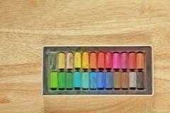 Stock Photo:Pastel chalk background Royalty Free Stock Image